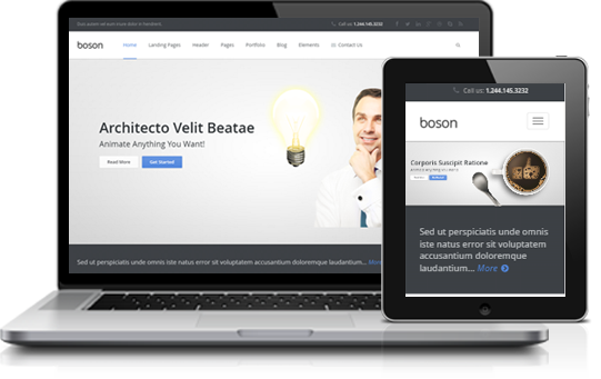 Business Bootstrap HTML5 Template