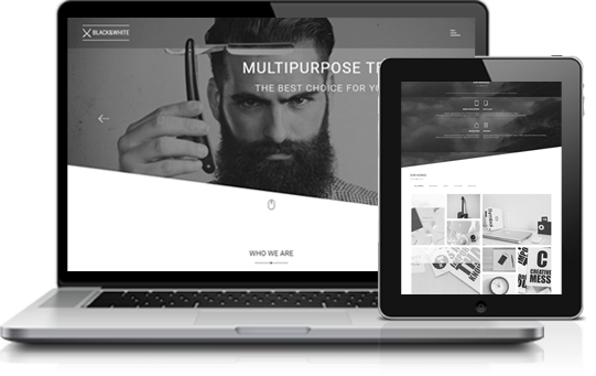 Black & White - Creative onepage Multipurpose WordPress Theme