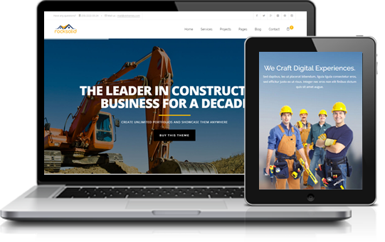 RockSolid Construction html Template